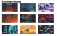 Backgrounds concepts