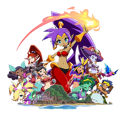 Shantae and the Seven Sirens (cast)