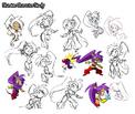 Shantae character hgh concepts
