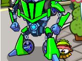 Зелёный трансформер