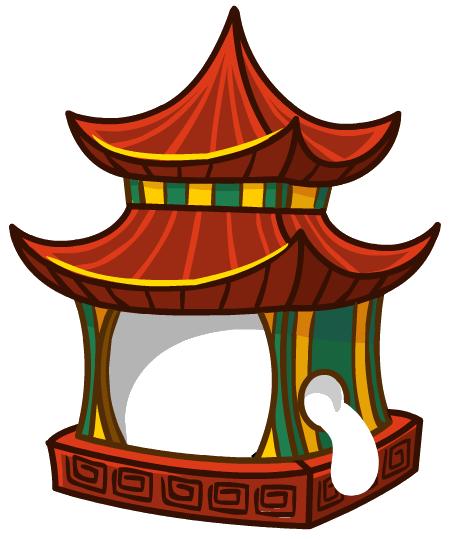 Костюм «Китайский домик»