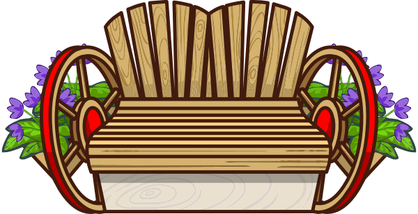 Дачный диван