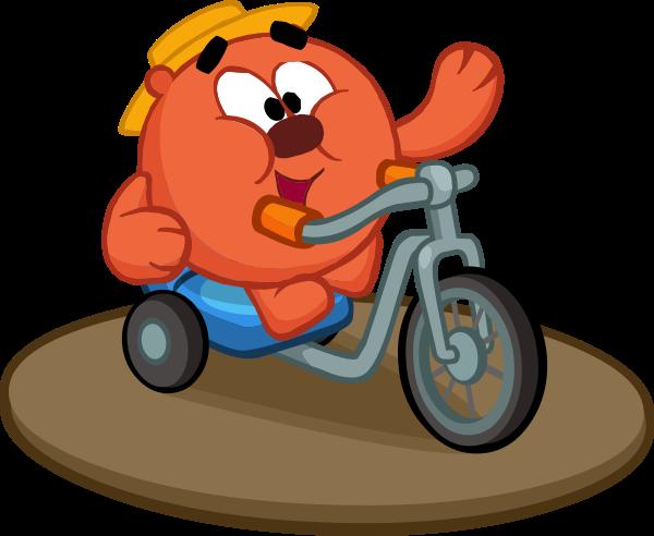 Велосипед в домик