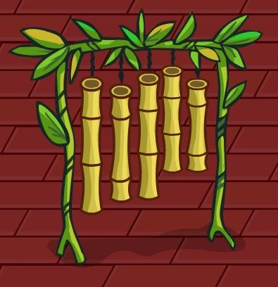 Бамбуковые колокольчики