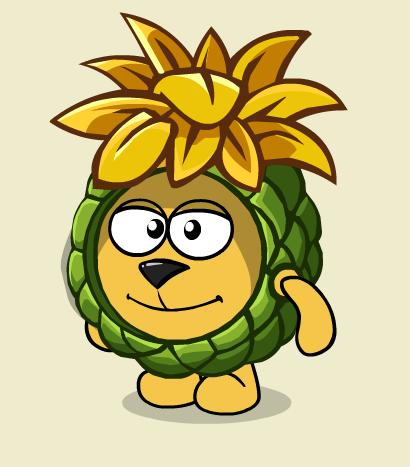 Костюм «Волшебный ананас»