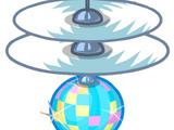 Спутник Диско-дрон