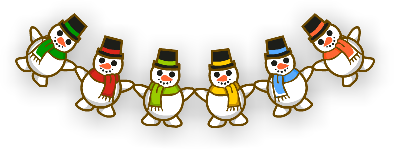 Гирлянда «Снеговики»