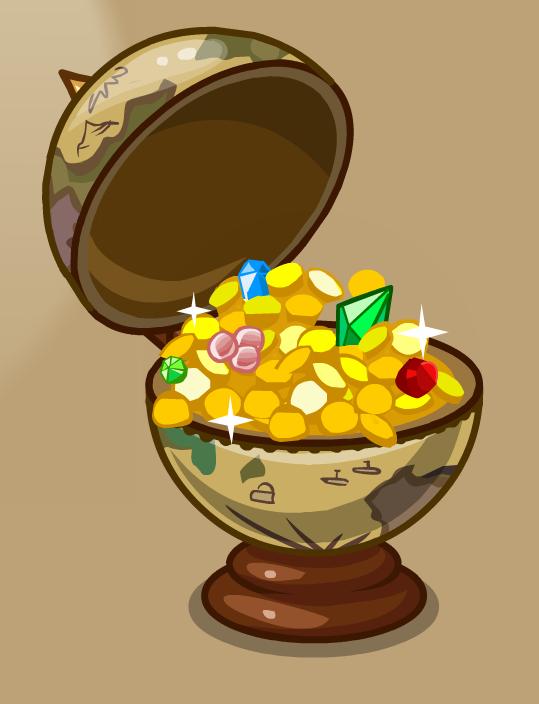 Глобус с сокровищами