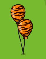 Воздушные шары «Тигр»