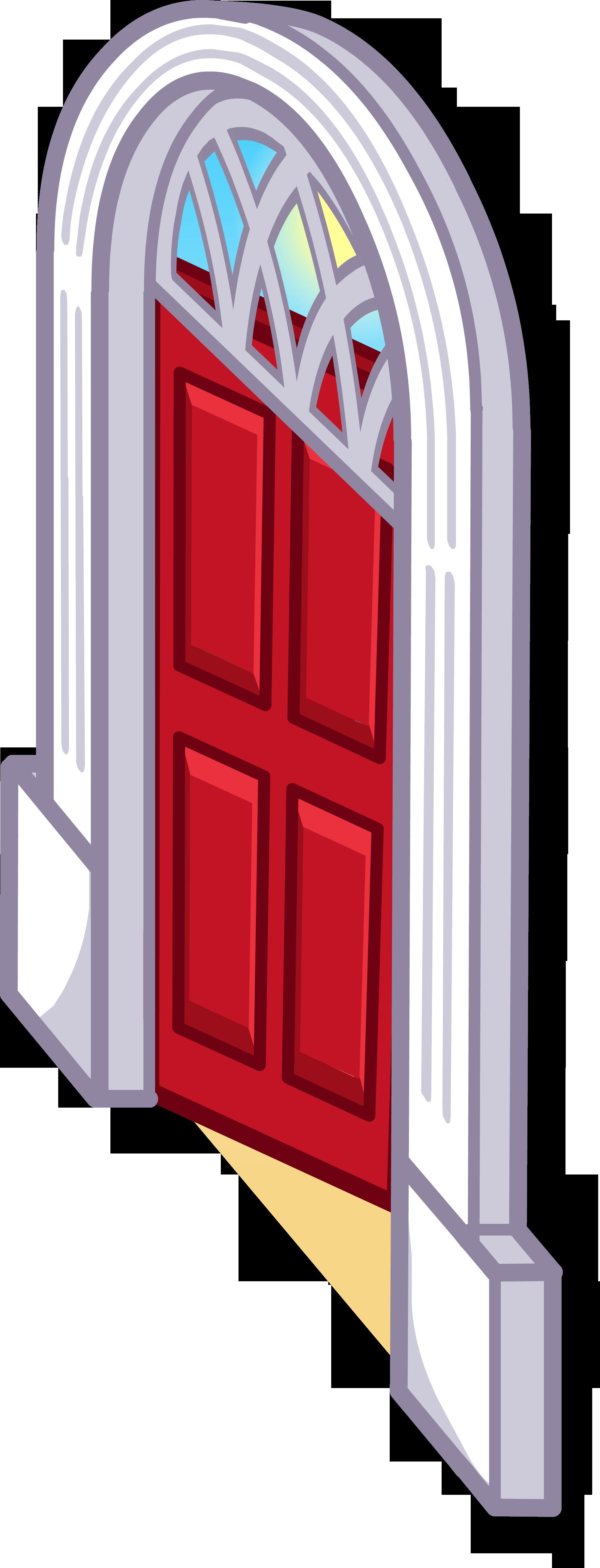Дверь на Пляж из домика