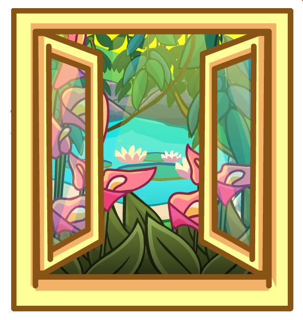 Окно в джунгли