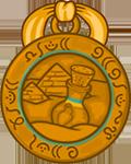 Медаль СА «Победитель Джинна»