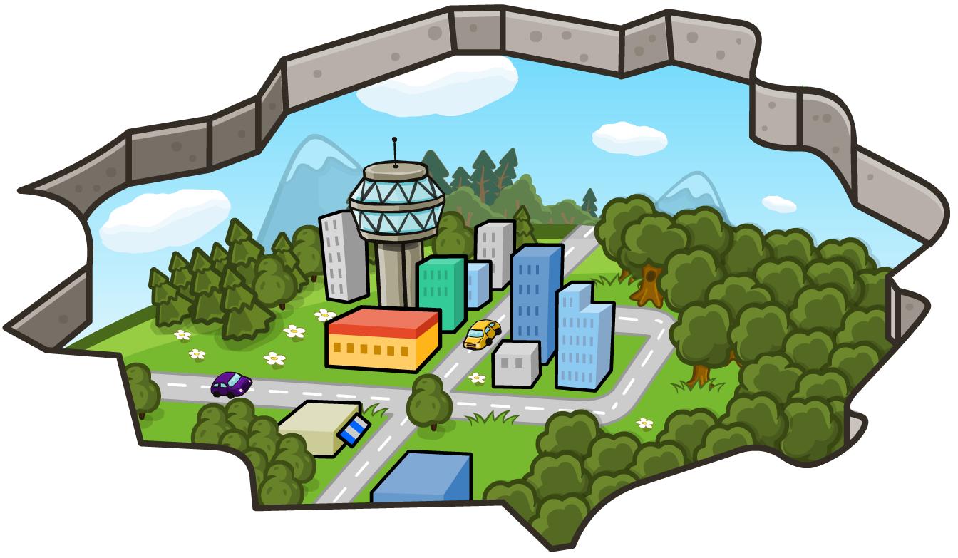 3D-ковёр «Город»