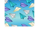 Фон «Бумажный самолётик»