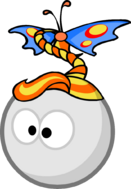 БабочкаПричёска