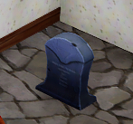 Rounded Grave Stone