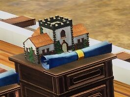Terracotta House Villa blueprint