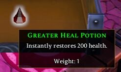 Greater Heal Potion