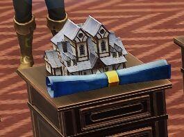Tudor House Tavern blueprint