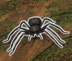 Awakened Vile Spider