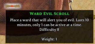 Ward: Evil Scroll