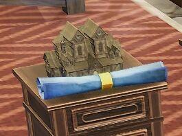 Wood House Tavern blueprint