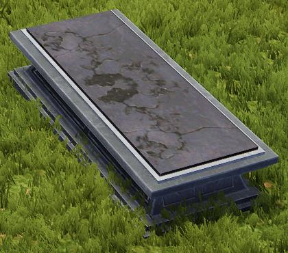 Flat Coffin