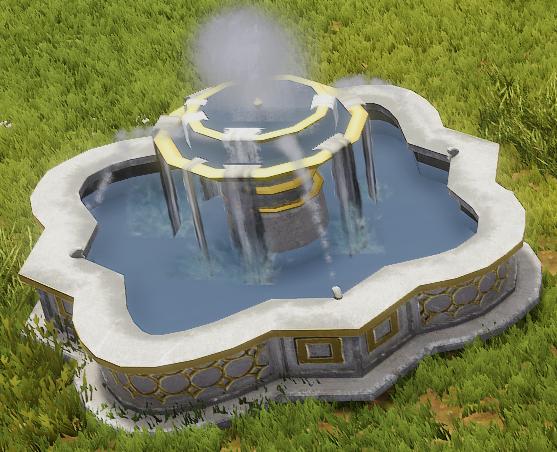 Ornate Fountain