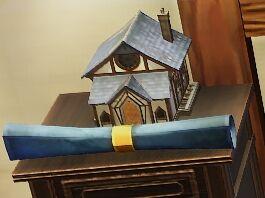 Tudor House Mahogany Blueprint