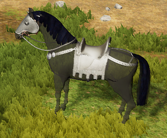 Armored Bay Horse