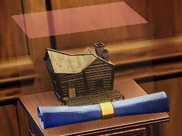 Wood House Cottage Blueprint