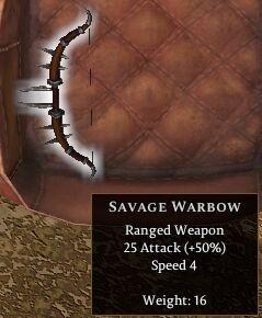 Savage Warbow