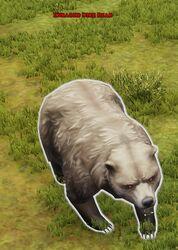 Enraged Dire Bear