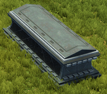 Tipped Coffin