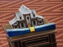 Tudor House Mayor blueprint