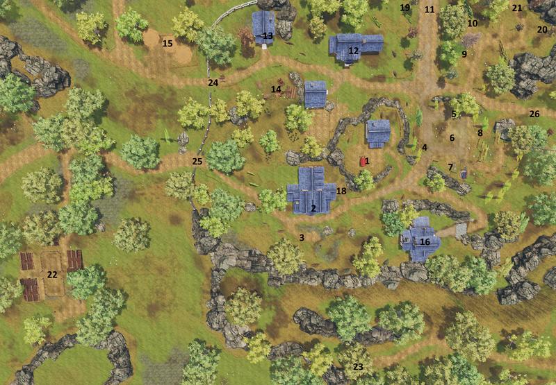 Map of Eldeir