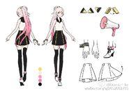 Huan Xiao Yi Reference (Style-B)