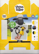 Shaun the sheep finger puppet