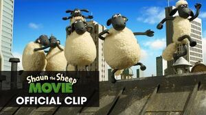 "Shaun The Sheep Movie Official Clip - ""Having Fun"""