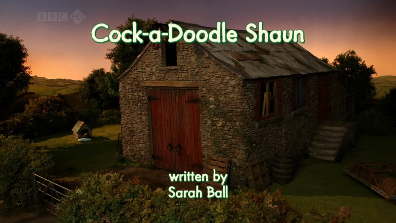 Cock-a-Doodle Shaun