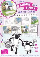 Make A Shaun And Timmy Pop Up Card!