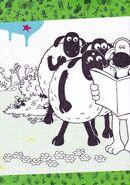 Shaun The sheep and bitzer Colouring part 1
