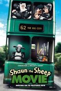 Shaun the Sheep Movie Teaser Poster