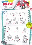 How ro draw! follow these easy steps to draw wallace and gromit.