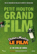 Shaun the Sheep Movie Teaser French Poster