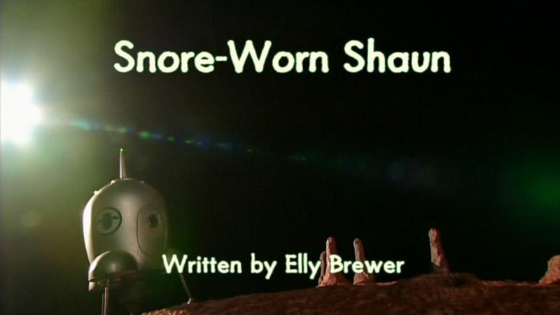 Snore-Worn Shaun