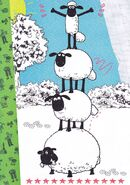 Shaun And His Friend Sheep