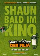 Shaun the Sheep Movie Teaser German Poster