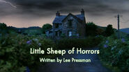 Little Sheep of Horrors title card