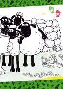 Shaun The sheep and bitzer Colouring part 2